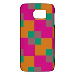 Squares    			samsung Galaxy S6 Hardshell Case by LalyLauraFLM