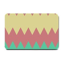 Retro Chevrons     			small Doormat by LalyLauraFLM
