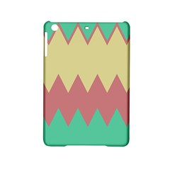Retro Chevrons     			apple Ipad Mini 2 Hardshell Case by LalyLauraFLM