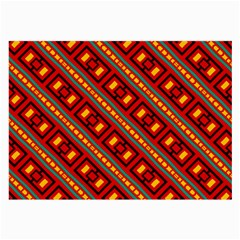 Distorted Stripes And Rectangles Pattern      			large Glasses Cloth by LalyLauraFLM