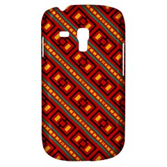 Distorted Stripes And Rectangles Pattern      			samsung Galaxy S3 Mini I8190 Hardshell Case by LalyLauraFLM