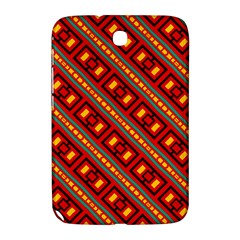 Distorted Stripes And Rectangles Pattern      			samsung Galaxy Note 8 0 N5100 Hardshell Case by LalyLauraFLM