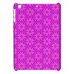 Pink Snowflakes Spinning In Winter Apple Ipad Mini Hardshell Case by DianeClancy