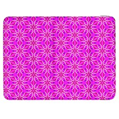 Pink Snowflakes Spinning In Winter Samsung Galaxy Tab 7  P1000 Flip Case by DianeClancy