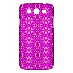 Pink Snowflakes Spinning In Winter Samsung Galaxy Mega 5 8 I9152 Hardshell Case  by DianeClancy