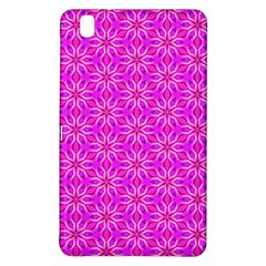 Pink Snowflakes Spinning In Winter Samsung Galaxy Tab Pro 8 4 Hardshell Case by DianeClancy