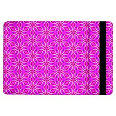 Pink Snowflakes Spinning In Winter Ipad Air Flip by DianeClancy