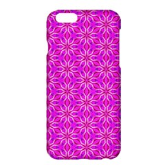 Pink Snowflakes Spinning In Winter Apple Iphone 6 Plus/6s Plus Hardshell Case by DianeClancy