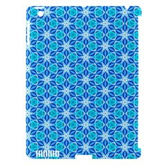 Aqua Hawaiian Stars Under A Night Sky Dance Apple Ipad 3/4 Hardshell Case (compatible With Smart Cover) by DianeClancy