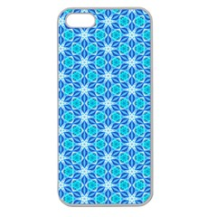 Aqua Hawaiian Stars Under A Night Sky Dance Apple Seamless Iphone 5 Case (clear) by DianeClancy