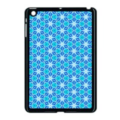 Aqua Hawaiian Stars Under A Night Sky Dance Apple Ipad Mini Case (black) by DianeClancy
