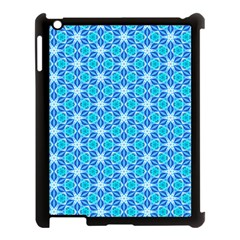 Aqua Hawaiian Stars Under A Night Sky Dance Apple Ipad 3/4 Case (black) by DianeClancy