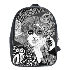 Smoking Backpack Small School Bag (large) by DryInk