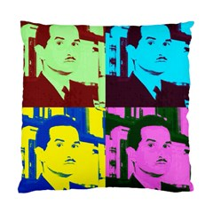 Carlos Fuentes Cushion Case (two Sided)  by DryInk