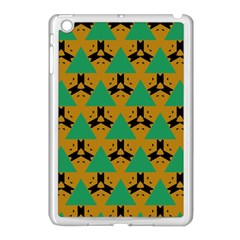 Triangles And Other Shapes Pattern        			apple Ipad Mini Case (white) by LalyLauraFLM