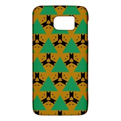 Triangles And Other Shapes Pattern        			samsung Galaxy S6 Hardshell Case by LalyLauraFLM