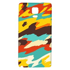 Wavy Retro  Texture           			samsung Note 4 Hardshell Back Case by LalyLauraFLM