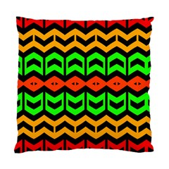 Rhombus And Other Shapes Pattern             	standard Cushion Case (two Sides) by LalyLauraFLM