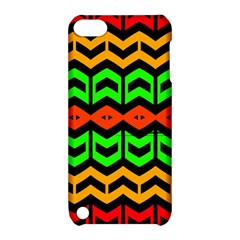 Rhombus And Other Shapes Pattern             			apple Ipod Touch 5 Hardshell Case With Stand by LalyLauraFLM