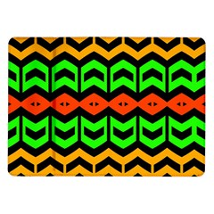 Rhombus And Other Shapes Pattern             			samsung Galaxy Tab 10 1  P7500 Flip Case by LalyLauraFLM