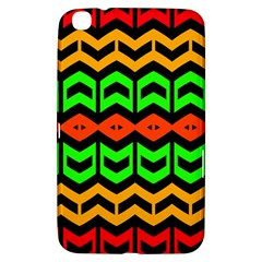 Rhombus And Other Shapes Pattern             			samsung Galaxy Tab 3 (8 ) T3100 Hardshell Case by LalyLauraFLM