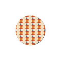 Triangles Tribal Pattern              			golf Ball Marker (4 Pack) by LalyLauraFLM