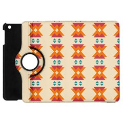Triangles Tribal Pattern              			apple Ipad Mini Flip 360 Case by LalyLauraFLM