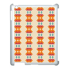 Triangles Tribal Pattern              			apple Ipad 3/4 Case (white) by LalyLauraFLM
