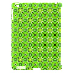 Vibrant Abstract Tropical Lime Foliage Lattice Apple Ipad 3/4 Hardshell Case (compatible With Smart Cover) by DianeClancy