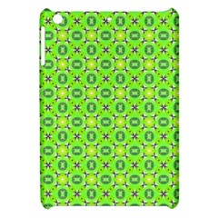 Vibrant Abstract Tropical Lime Foliage Lattice Apple Ipad Mini Hardshell Case by DianeClancy