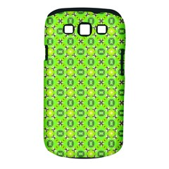 Vibrant Abstract Tropical Lime Foliage Lattice Samsung Galaxy S Iii Classic Hardshell Case (pc+silicone) by DianeClancy