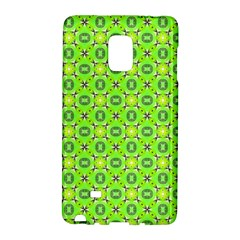 Vibrant Abstract Tropical Lime Foliage Lattice Galaxy Note Edge by DianeClancy