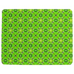 Vibrant Abstract Tropical Lime Foliage Lattice Jigsaw Puzzle Photo Stand (rectangular) by DianeClancy