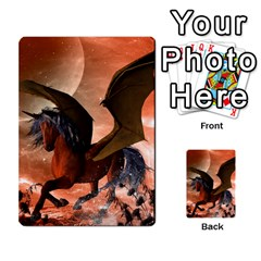 Wonderful Dark Unicorn In The Night Multi Purpose Cards (rectangle)