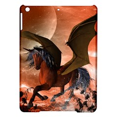 Wonderful Dark Unicorn In The Night Ipad Air Hardshell Cases by FantasyWorld7