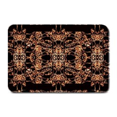 Dark Ornate Abstract  Pattern Plate Mats by dflcprints