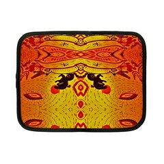 Green Sun Netbook Case (small)  by MRTACPANS