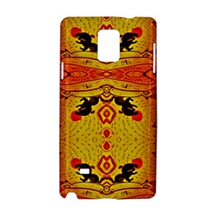 Green Sun Samsung Galaxy Note 4 Hardshell Case by MRTACPANS