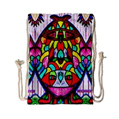 Sun Dial Drawstring Bag (small)