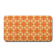 Peach Pineapple Abstract Circles Arches Medium Bar Mats by DianeClancy
