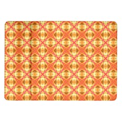 Peach Pineapple Abstract Circles Arches Samsung Galaxy Tab 10 1  P7500 Flip Case by DianeClancy