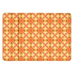 Peach Pineapple Abstract Circles Arches Samsung Galaxy Tab 8 9  P7300 Flip Case by DianeClancy
