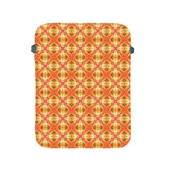 Peach Pineapple Abstract Circles Arches Apple Ipad 2/3/4 Protective Soft Cases by DianeClancy