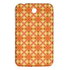 Peach Pineapple Abstract Circles Arches Samsung Galaxy Tab 3 (7 ) P3200 Hardshell Case  by DianeClancy