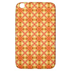 Peach Pineapple Abstract Circles Arches Samsung Galaxy Tab 3 (8 ) T3100 Hardshell Case
