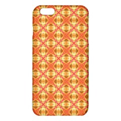 Peach Pineapple Abstract Circles Arches Iphone 6 Plus/6s Plus Tpu Case by DianeClancy
