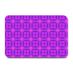 Abstract Dancing Diamonds Purple Violet Plate Mats by DianeClancy