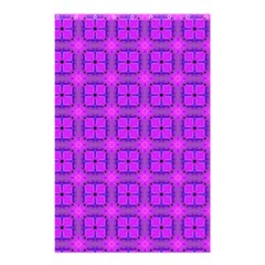 Abstract Dancing Diamonds Purple Violet Shower Curtain 48  X 72  (small)