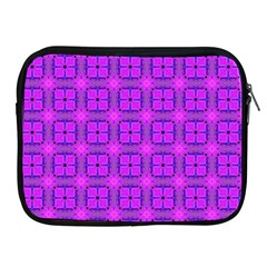Abstract Dancing Diamonds Purple Violet Apple Ipad 2/3/4 Zipper Cases by DianeClancy