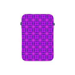 Abstract Dancing Diamonds Purple Violet Apple Ipad Mini Protective Soft Cases by DianeClancy